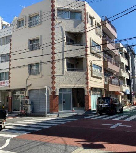 【角地】新宿区 3線利用可  RCビル 自己利用可部分あり